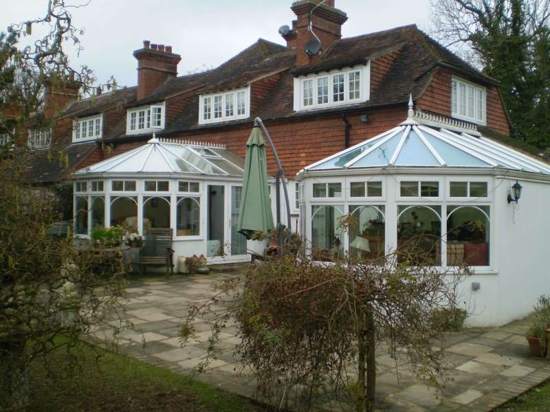 2 Pvcu conservatorys in Hever Kent