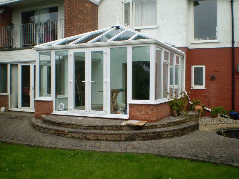 2 sidelights so the doors can fully open onto the garden in Rye Kent