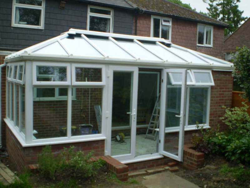 Conservatory in Pembury Kent.